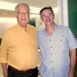Sérgio Novaes e João Magenta: parceiros