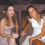 Adriana Santa Rosa e Susan Caroline Dão Pereira