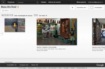 Visite o acervo do Museu Afro Brasil sem sair de casa