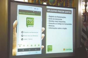 Prefeitura lançou ferramenta para o consumidor santista