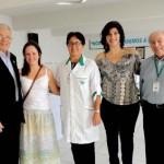 Roberto Barroso, Ana Beatriz Busnard, Marília Belloc, Andreia Teixeira e Hélio Cardoso