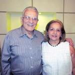 Estimado casal Roberto Luiz Barroso e Isa Barroso