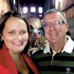Jornalistas José Carlos Silvares e Marta Silvares