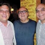 Carsten Schwabe, diretor de Franquia da Fritz, Gil Mansur e Ely Carvalho