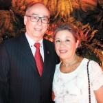Ricardo Cardozo e esposa Rosângela Cardozo