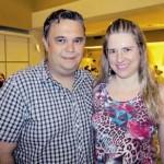 Jornalista Fábio Figueiredo e Silvia Figueiredo
