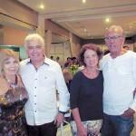 Roseli Lenhano, Renato Lenhano, Maria Couto e Celso Couto