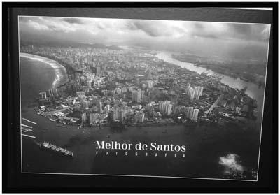 """Livro e exposição """"Melhor de Santos"""""""