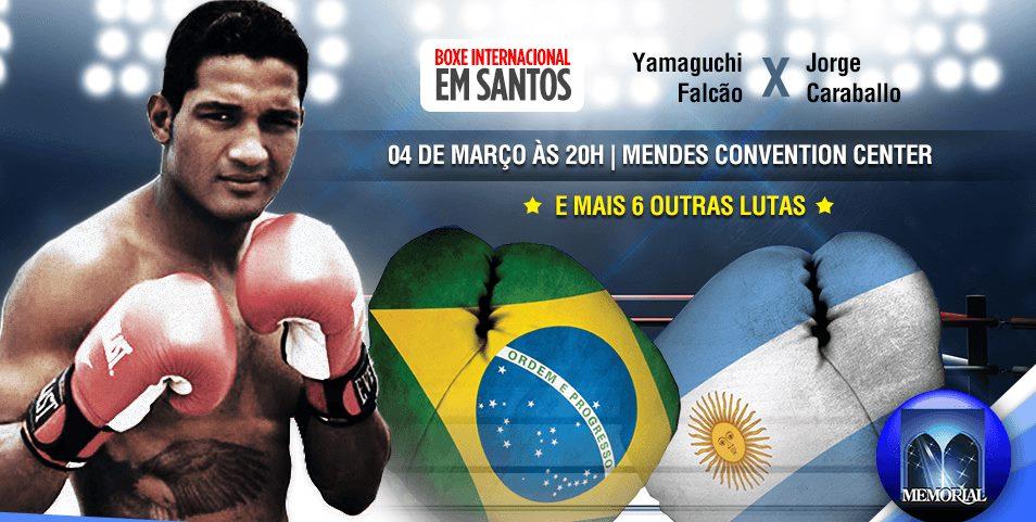 Yamaguchi Falcão enfrenta argentino hoje, no Mendes Convention