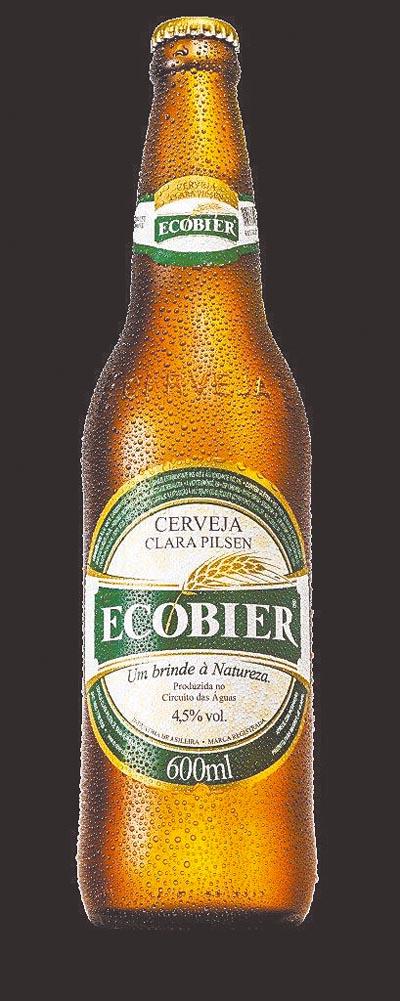 Cerveja com sabor sustentável