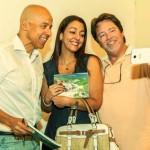 Com o casal amigo Alexandra e Acácio