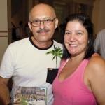 Antero, velho amigo do Primo Ferreira, e esposa
