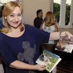 Elsa Rodrigues: cobertura do evento para o seu programa Estilo
