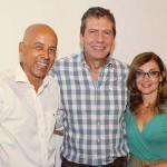 Com amigos João Sobreira e Mara Ruiz