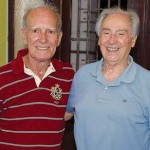José Roberto e Hélio Cardoso: grandes colaboradores
