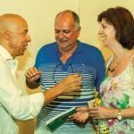 Com Mano Sérgio Silvestre e cunhada