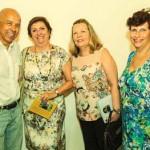 Reencontro com queridas amigas do Ateneu Brasília, Jurema, Arlete e Maria Eliza