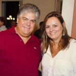 Com amigo patrocinador Fernando Toledo e esposa