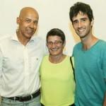 Jornalista Cristina Cavalleiro e o filhão
