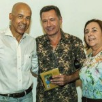 Com Marcelo Mathias e Tereza Alvarez