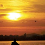 Pôr do Sol em Santos