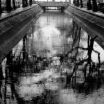 Canal de drenagem de Santos
