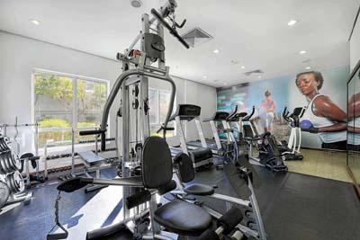Fitness center e alimentação saudável
