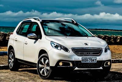 Bonito e gostoso. É o Peugeot 2008!