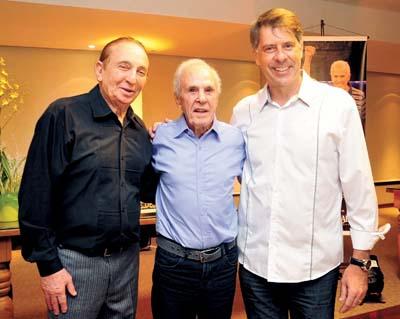 Pepe Altstut, Éder Jofre e o secretário Alcídio
