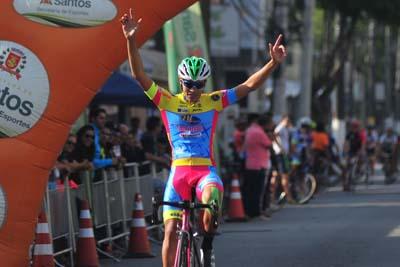 Caio Santana: campeão da 1ª etapa do Santista