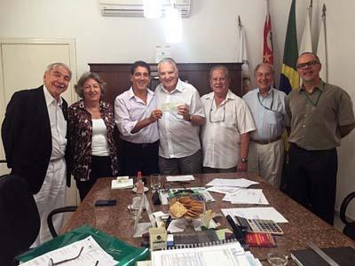 Vereador doa vencimentos da suplência à Casa da Esperança de Santos