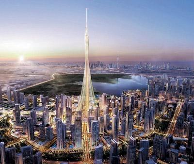 Nova torre em Dubai Creek Harbour