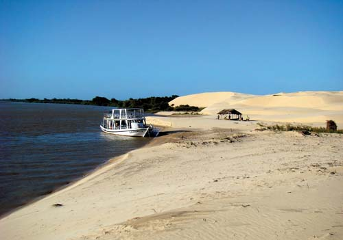 O belo litoral do Piauí
