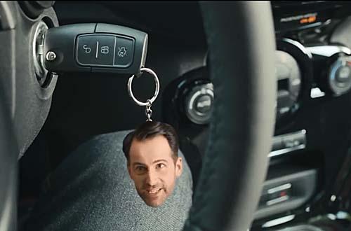 A chave do veículo agora é multifuncional