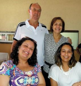 Herbert Holz e Cleyde Vieira, Tatiana Vieira Santos e Camila Vieira Santos
