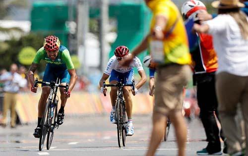 Lauro Chaman é prata no Ciclismo de Estrada