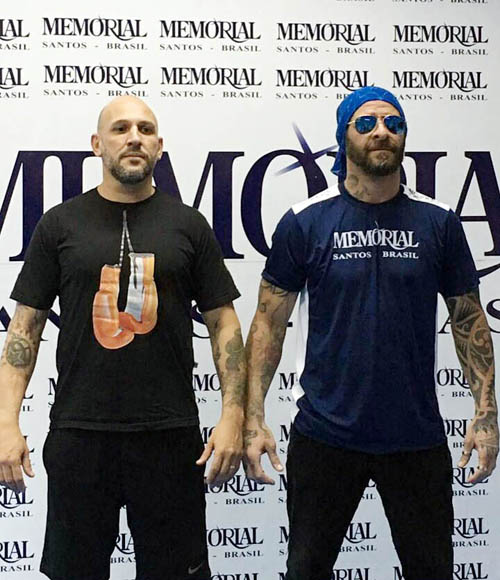 Marcelo Nigue enfrentará Cláudio Porto no Spartacus Fight Night
