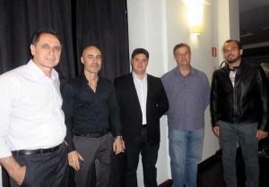 Roberto Carvalho, Carlos Passos, Daniel Rezende, Antonio Manoel Lopes de Carvalho e Alfredo Tedesco Jr.