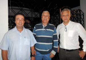 Fernando Tuzzolo, Marcos Gaspar e Sérgio Cunha
