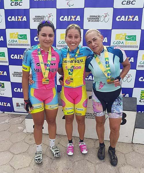 Márcia Fanhani conquista mais um ouroe lidera ranking da Copa Brasil