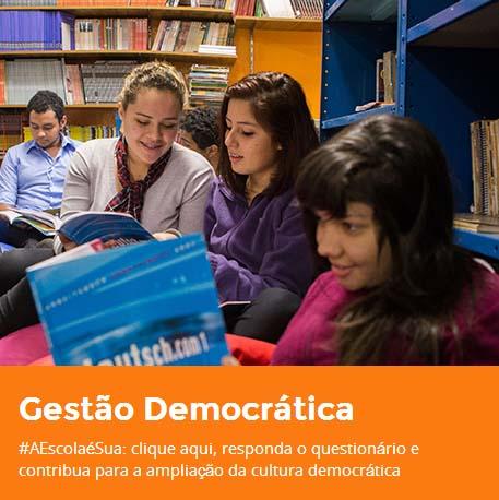 Enquete para gestão democrática na Educação só até sexta-feira
