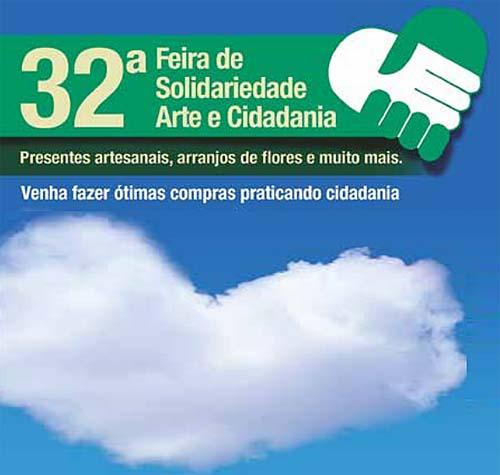 Até domingo Santos realiza a 32ª Feira da Solidariedade, Arte e Cidadania