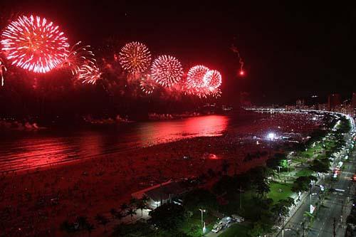 Santos realizará queima de fogos em parceria com iniciativa privada