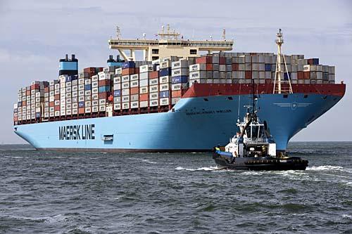 Maersk Line vai adquirir a Hamburg Süd