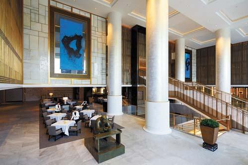 Hotel é novo marco em Pequim