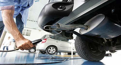 Inspeção de veículos diesel melhora o ar