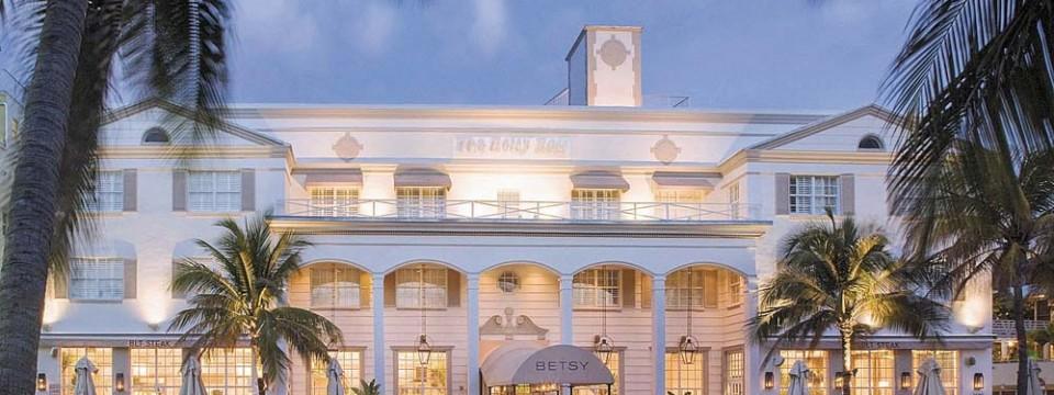 O novo resort Betsy-South Beach