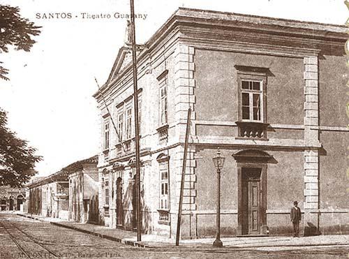 Teatro Guarany. Palco de grandes fatos históricos