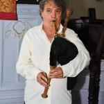 Wilson Melo: peças medievais com sua gaita galega