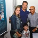 Família Duppre, Hugo, Juliana e Victória